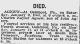 agnew charles naylor obit Pitts Press Jan 10 1904